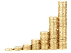 Mince uložené v komínkoch
