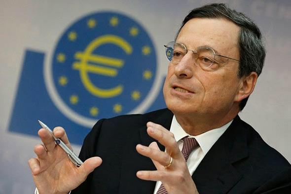 Taliansky bankár Mario Draghi