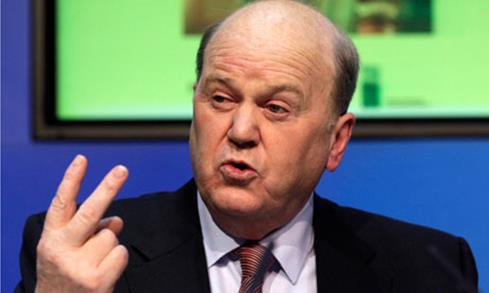 Írsky minister financií Noonan