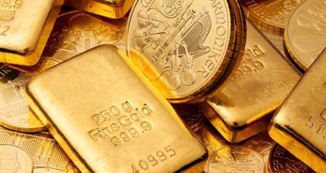 Mince a zlaté tehličky