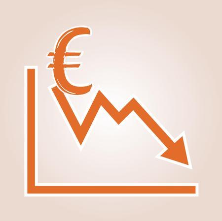 Klesajúca hodnota eura