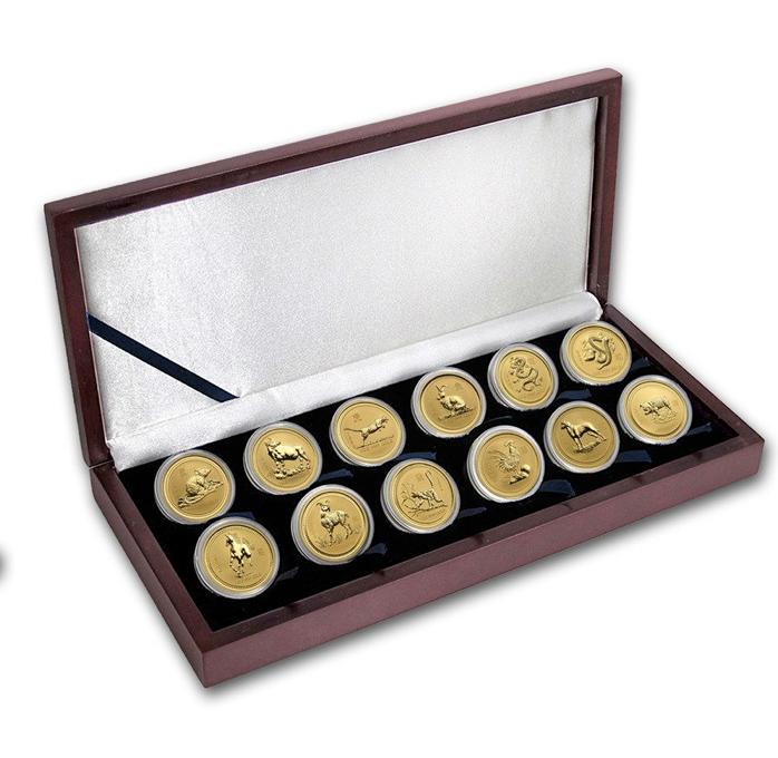 LUnarne mince zlato set