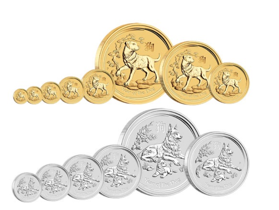 Lunar mince zlato